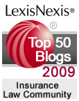 LexisNexis Insurance Law Community 2009 Top Blogs of the Year