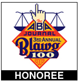 The ABA Journal named HealthBlawg one of the Top 100 Blawgs of 2009