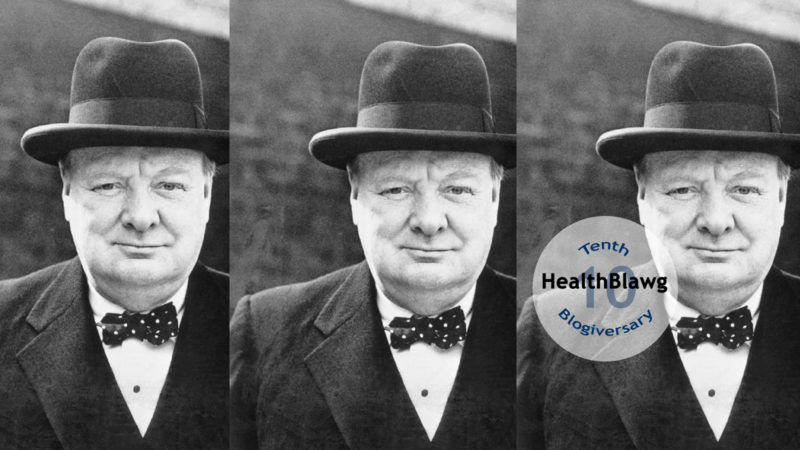 Channeling Churchill to deal with innovation, impatience and chaos in healthcare