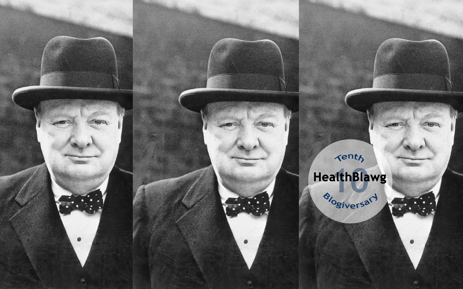 Prescribing drugs Winston Churchill, 1932, New York