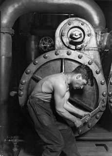 Lewis Hine Mechanic